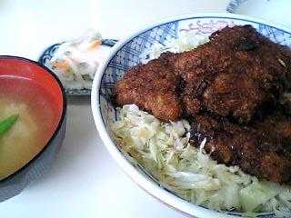 ソースカツ丼¥750