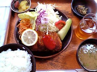 やきかつ定食並¥700