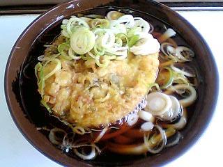 天ぷらうどん¥330