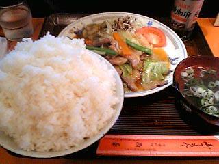 西華定食\850