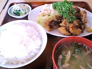 イカフライ定食\750