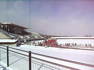 雪のあづま競技場