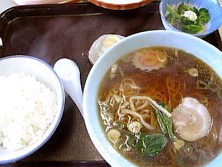 ラーメン定食\650