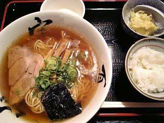馬塩ラーメン定食\680
