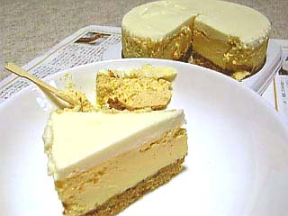 チーズケーキの図