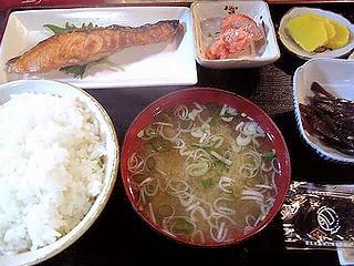 焼魚定食\600