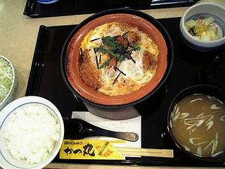 カツ煮定食\880