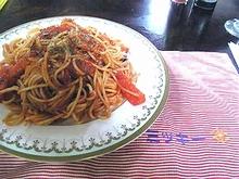 ナポリ風スパゲッティ\600