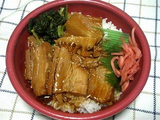 豚角煮丼\480