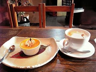 栗味紅茶とかぼちゃプリン