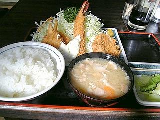 水戸屋定食\950