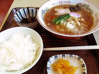 ラーメン定食\550