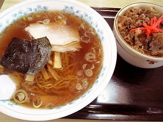 ミニ牛丼セット\800