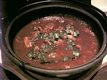 牛すじ味噌煮込み
