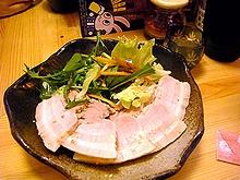 エゴマゆで豚