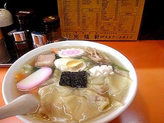 五目ワンタン+麺