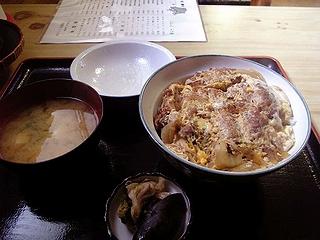 カツ丼\750