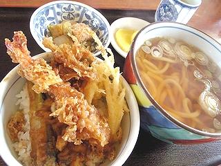 天丼定食\680