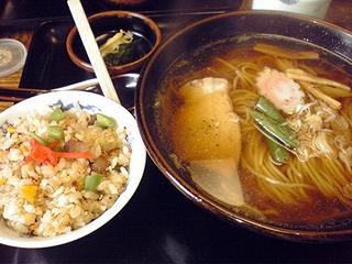 半チャン麺