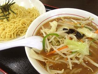 野菜つけ麺醤油味\750