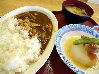 方木田食堂のカレー