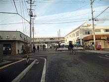 南福島駅前