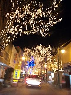スズラン通りの電飾