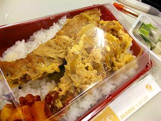 エビフライ丼\380