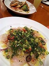 カルパッチョと前菜