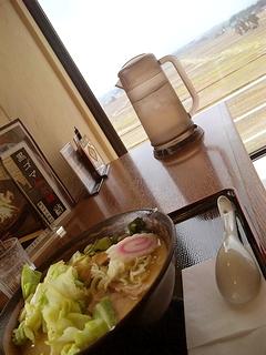 味噌キャベツラーメン\600