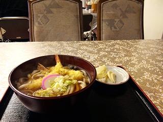 天ぷらうどん\700