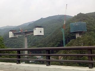 高架の橋桁