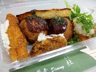 蕎麦ダイニング杜の料理