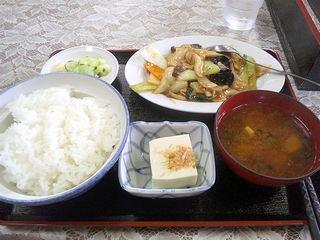 中華炒め定食