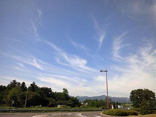安積PAの雲