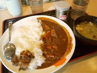 松屋カレー