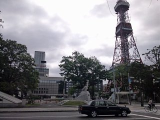 テレビ塔付近