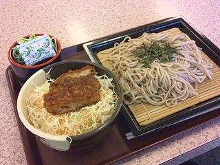会津そばとミニソースカツ丼