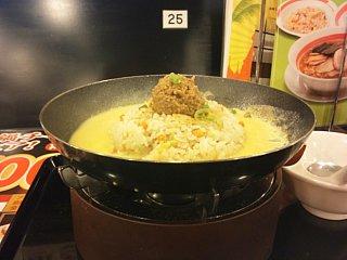 鉄鍋チャーハン