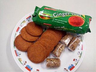 ジンジャーナッツクッキー