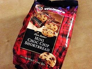 ウォーカーズのチョコチップクッキー