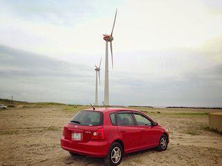 風車とシビック